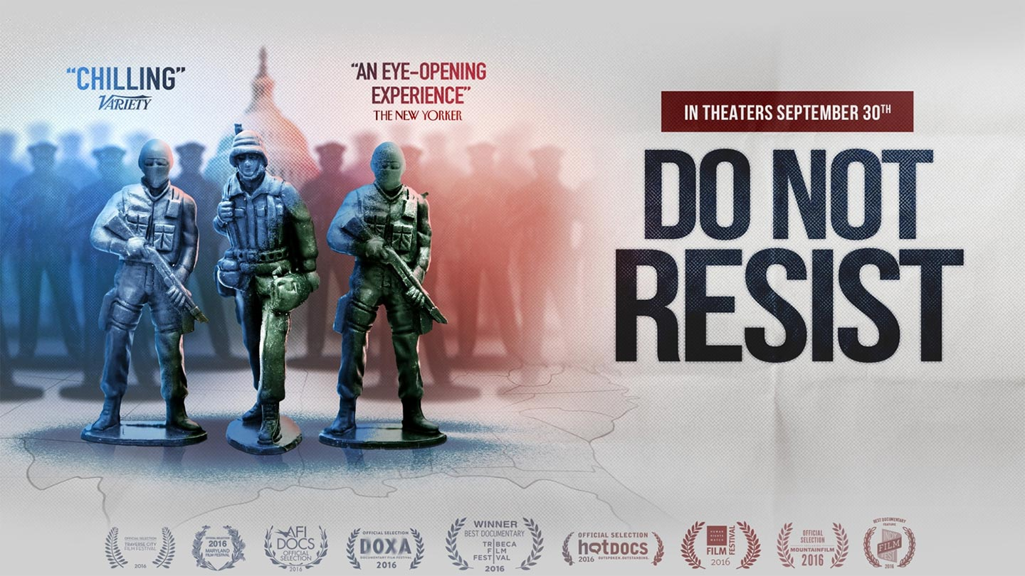 Do Not Resist (affiche)
